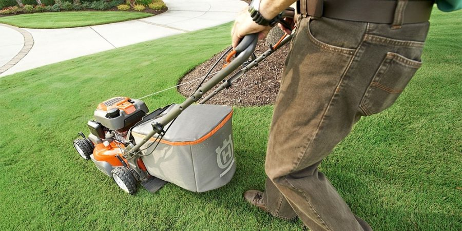 Best self propelled lawn mower under 300 dollars featured image..