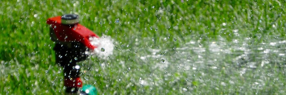 Lawn sprinkler buyers guide section